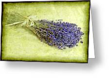 A Spray Of Lavender Greeting Card