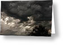 A Storm Is Born Greeting Card