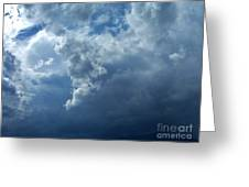 A Storm Rolls In From The West 11 Greeting Card