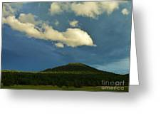 A Storm Rolls In From The West 25 Greeting Card
