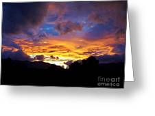 A Storm Rolls In From The West 28 Greeting Card