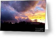 A Storm Rolls In From The West 29 Greeting Card