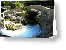A Stream In Provence Greeting Card