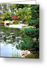 A Stroll In Peace And Tranquility Greeting Card