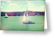 A Summer Sailing Adventure Greeting Card