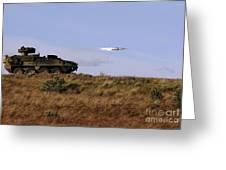 A Tow Missile Is Launched From An Greeting Card
