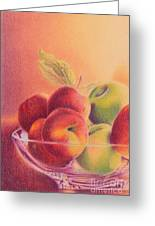 A Trip To The Orchard Greeting Card by Elizabeth Dobbs