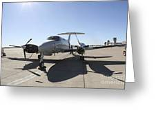 A  Uc-12f King Air Aircraft Greeting Card