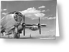 A U.s. Army Air Forces B-29 Greeting Card