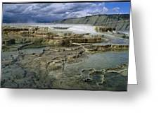 A View Across Mammoth Greeting Card