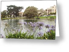 A View Of Palace Of Fine Arts Theatre San Francisco No Five Greeting Card
