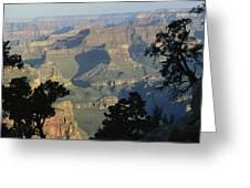 A View Of The Grand Canyon Greeting Card