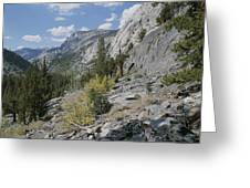 A View Through Goddard Canyon Greeting Card