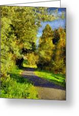 A Walk Amongst Nature Greeting Card