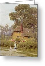 A Wiltshire Garden Greeting Card