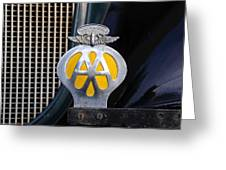 Aaa South Africa Greeting Card