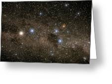 Ab Centauri Stars In The Southern Cross Greeting Card