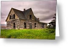 Abandoned Farm House Greeting Card