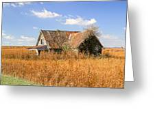 Abandoned Farmhouse 7 Greeting Card