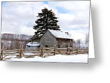 Abandoned Home  Greeting Card