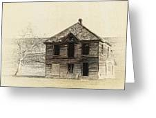 Abandoned Homestead - Okanogan Washington Greeting Card