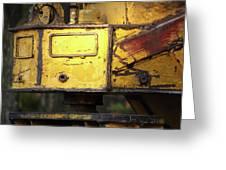 Abandoned Machine Greeting Card