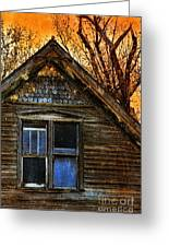 Abandoned Old House Greeting Card