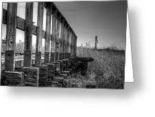 Abandoned Railway  Greeting Card