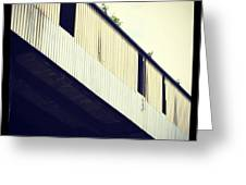Abandoned Warehouse Greeting Card by Chris Jones