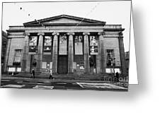 Aberdeen Music Hall Formerly The Citys Assembly Rooms Union Street Scotland Uk Greeting Card