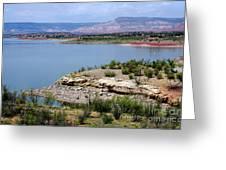 Abiquiu Lake New Mexico Greeting Card