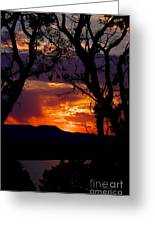 Abiquiu Sunset II Greeting Card