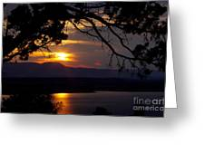 Abiquiu Sunset Greeting Card