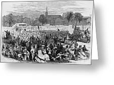 Abolition Of Slavery Greeting Card by Photo Researchers