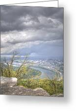 Above Chattanooga Greeting Card