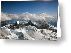 Above Mckinley Greeting Card