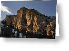 Above Red River I Greeting Card