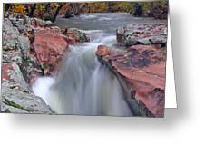 Above The Castor River Shut Ins II Greeting Card