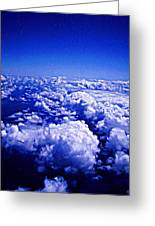Above The Clouds Abstract Greeting Card