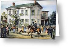 Abraham Lincolns Home Greeting Card