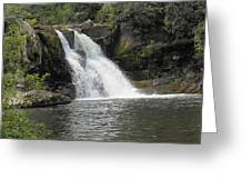 Abrams Falls Greeting Card