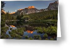 Absaroka Range Reflection Greeting Card