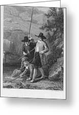 Absolon: Fishermen Greeting Card