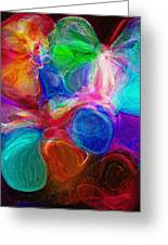 Abstract - Amoeba Greeting Card by Steve Ohlsen