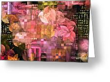 Abstract .. Trellis Greeting Card