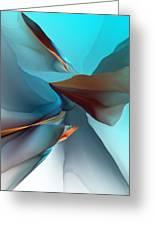 Abstract 011612 Greeting Card
