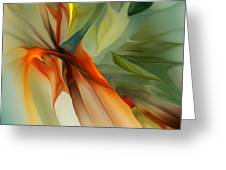 Abstract 021412a Greeting Card