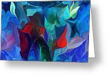 Abstract 021612 Greeting Card