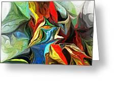 Abstract 021712 Greeting Card