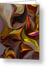 Abstract 022212 Greeting Card